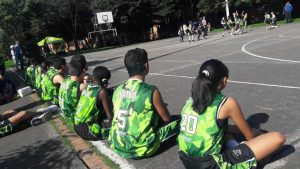 Escuela de Baloncesto en el Salitre