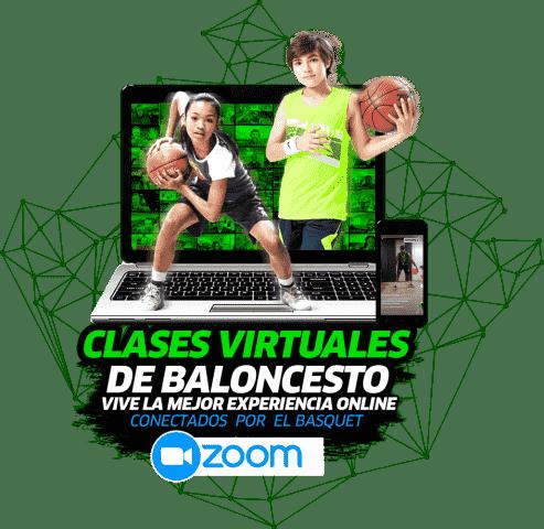 entrenamiento de baloncesto virtual para niños