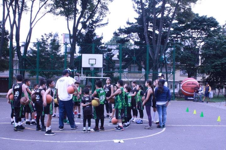 cursos de baloncesto en bogota